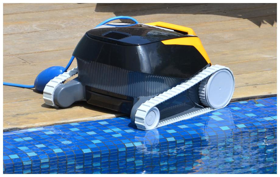 Détail du robot de piscine Dolphin E25