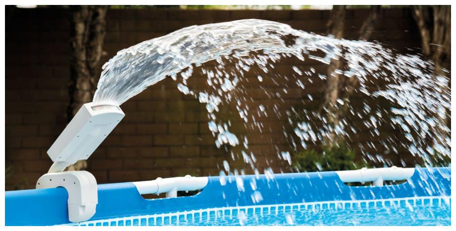 Fontaine LED à visser pour piscine hors sol Intex