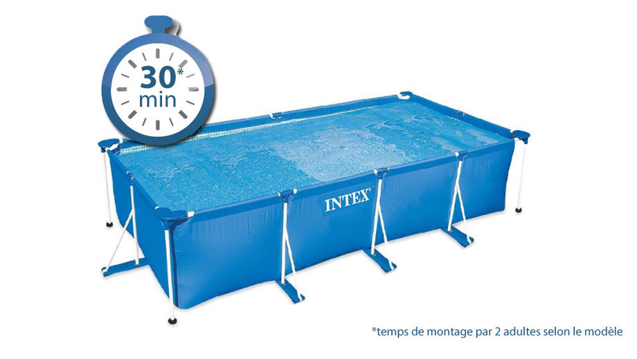 piscine metal frame junior montage
