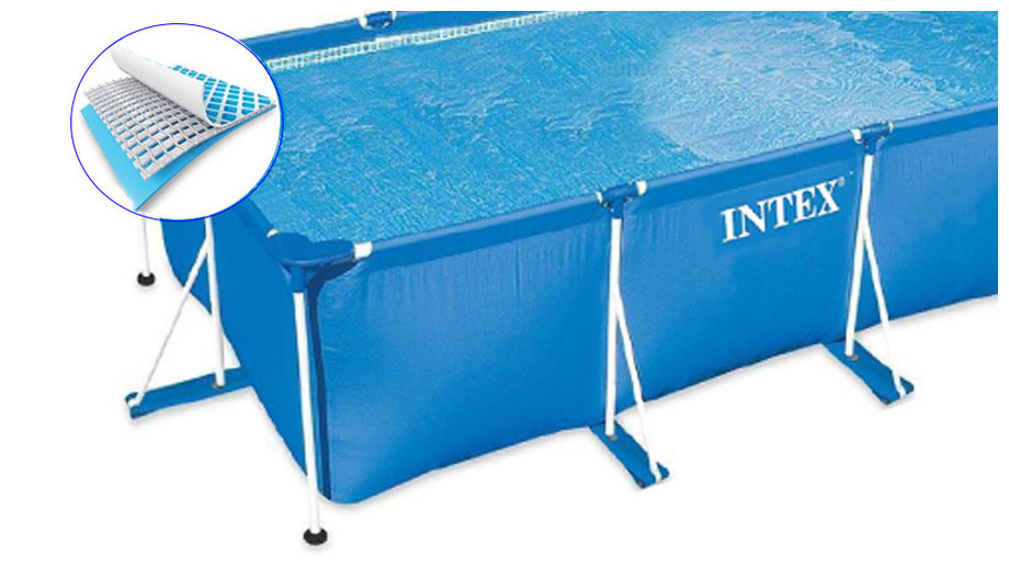 structure piscine hors sol intex metal frame junior