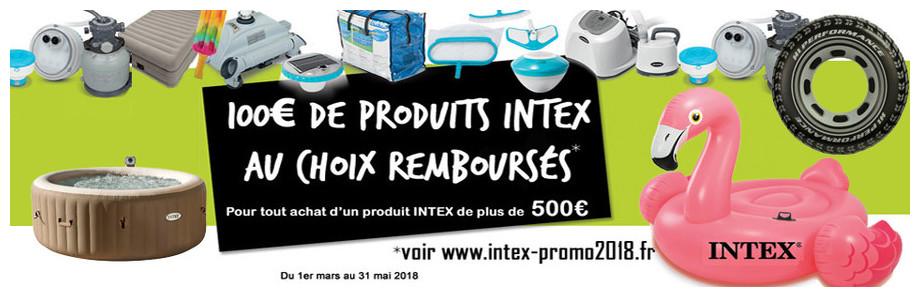 REMISE DE 100 EURO INTEX