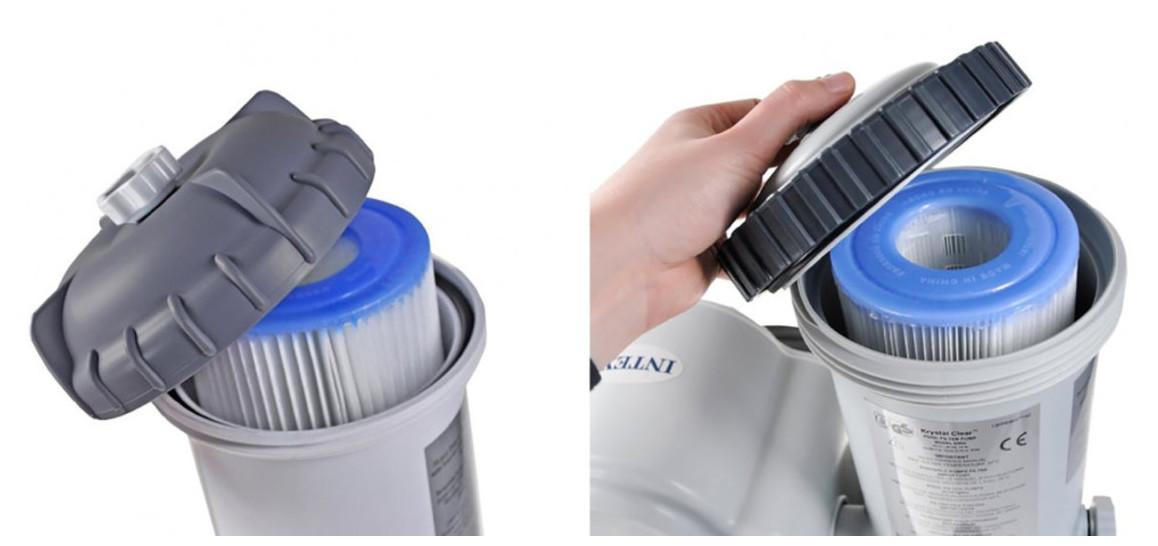cartouche épurateur intex Krystal Clear