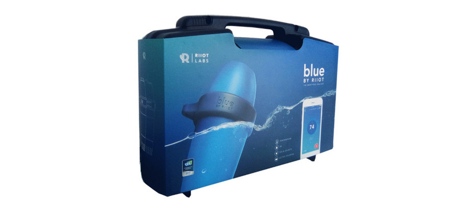 mallette analyseur piscine blue by Riiot