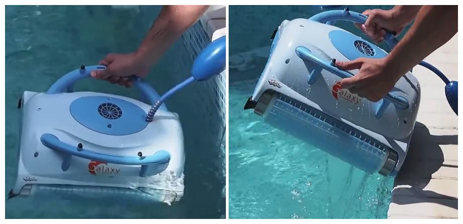 robot dolphin galaxy prise en main