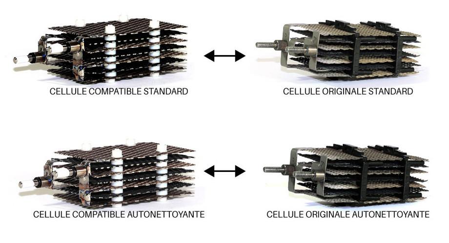 Cellule d'électrolyse compatible pour Justchlor®