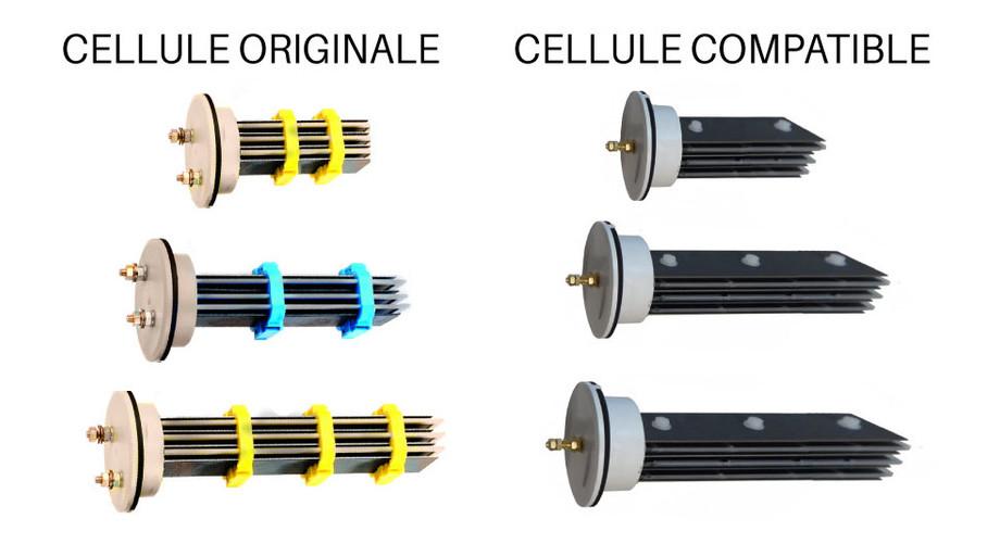 Cellule d'électrolyse compatible avec les électrolyseurs Pacific Sel®
