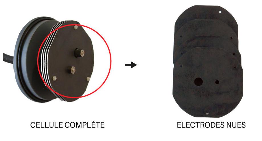 Cellule d'électrolyse compatible pour Poolmaid®