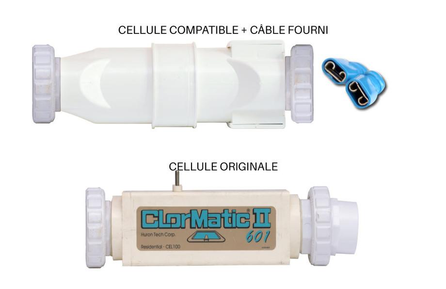 Cellule d'électrolyse compatible pour Aqualux Clormatic®