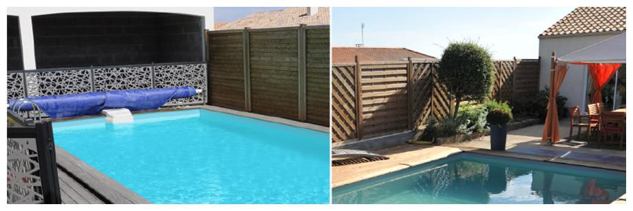 piscine bois rectangulaire Woodfirst Original 400x250x119cm en situation