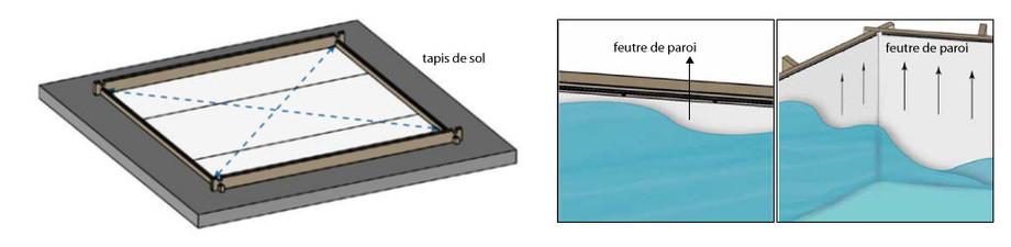 tapis de sol piscine bois woodfirst original rectangulaire en situation