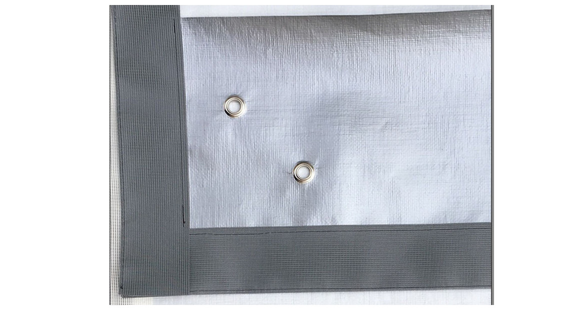 coloris de l'écran protecteur de volet piscine nova plus gris argent