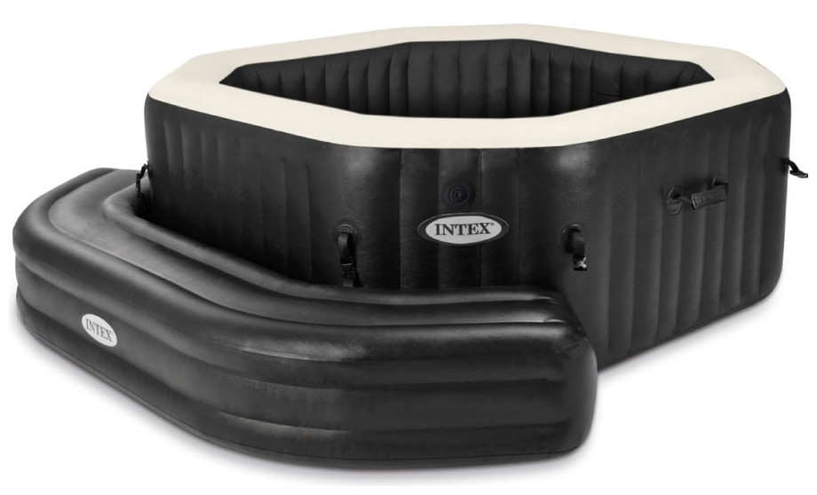 accessoires spa intex banc gonflable pour spa octogonal piscine center net. Black Bedroom Furniture Sets. Home Design Ideas
