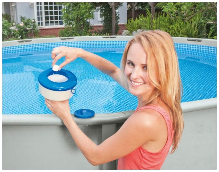 Diffuseur intex grand mod le pour piscines hors sol et - Toboggan pour piscine hors sol intex ...