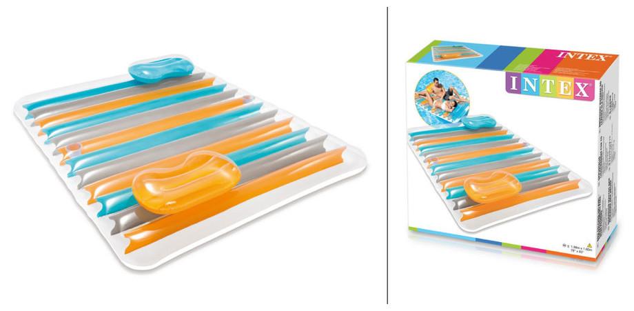 Intex matelas gonflable double pour piscine piscine center net - Kit reparation matelas gonflable intex ...