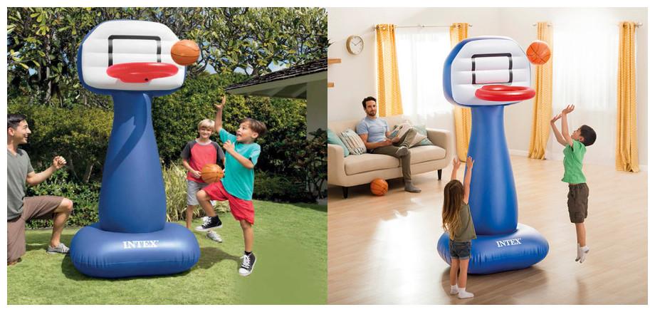 Panneau de basket géant gonflable Intex