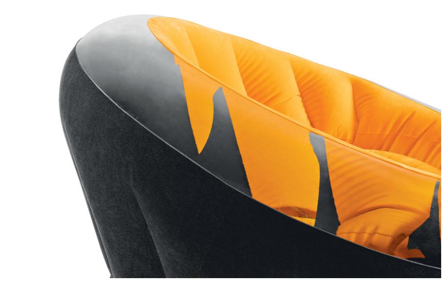 description du fauteuil gonflable onyx intex