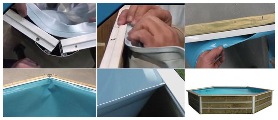 liner bleu pour piscine bois waterclip masbate
