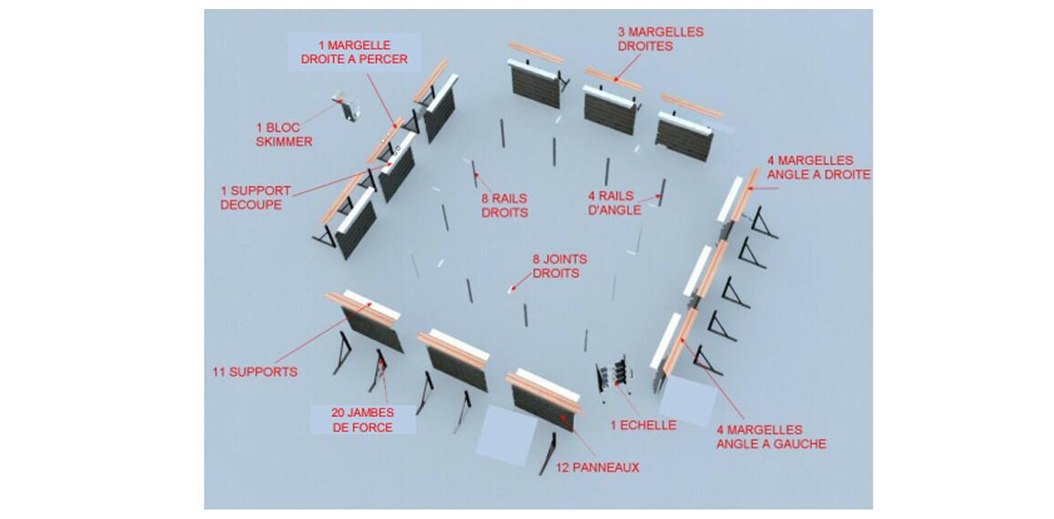 structure piscine bois waterclip solta