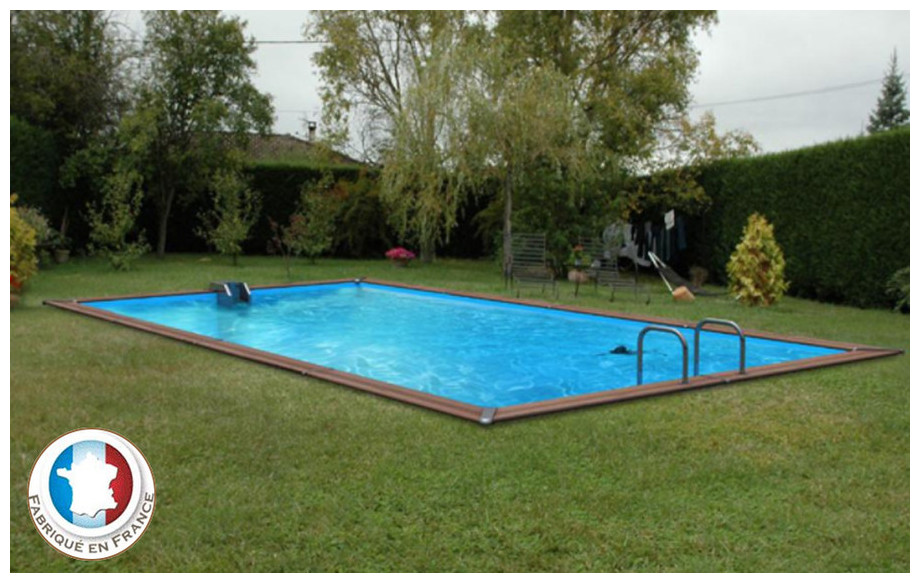 piscine bois waterclip rectangle en situation