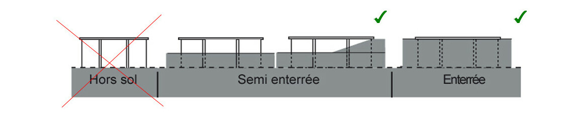 installation piscine rectangulaire waterclip