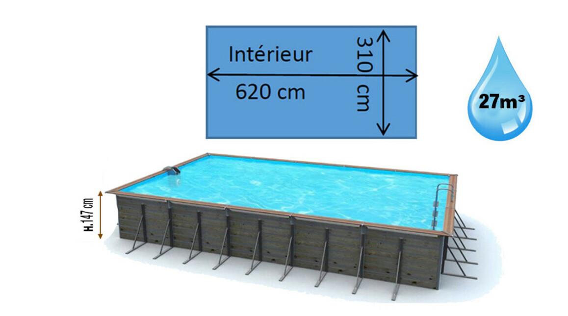 dimensions piscine bois waterclip tilos