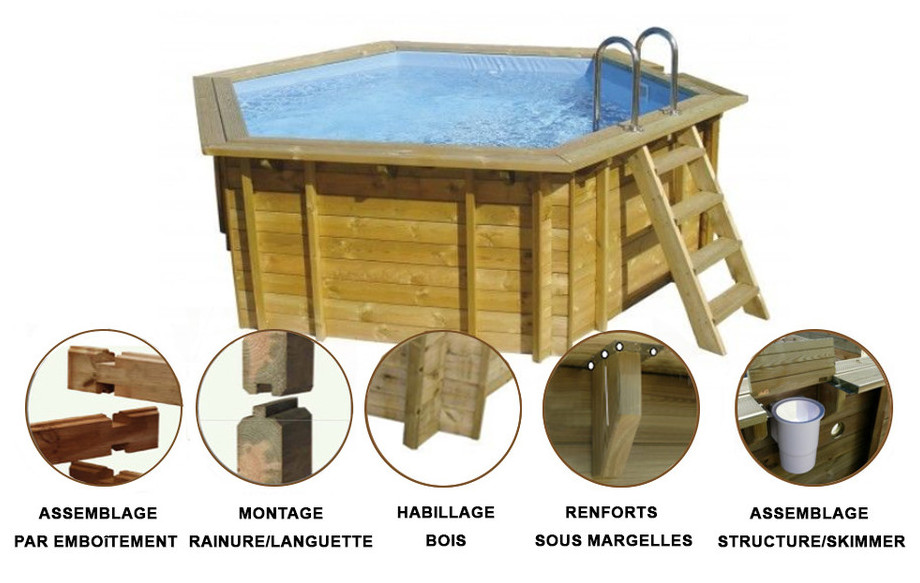 structure piscine bois summum waterclip