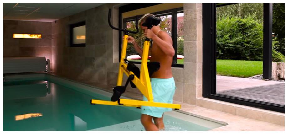 Vélo de piscine Aquaness Aquabike V2