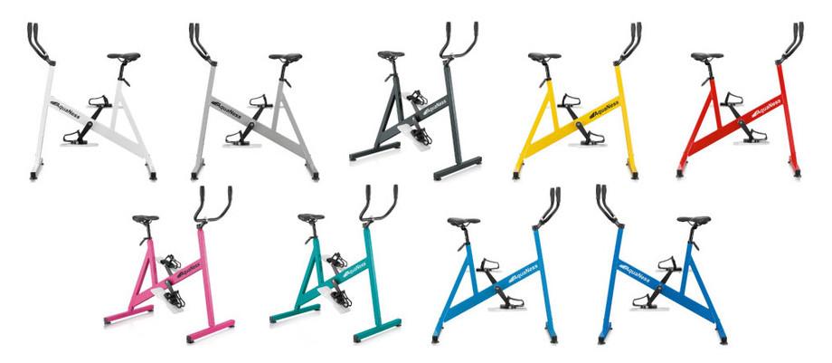 Vélo de piscine Aquaness Aquabike V1 - 9 coloris, made in France