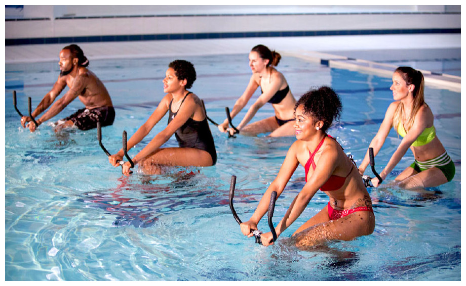 Vélo de piscine Aquaness Aquabike V1 - bienfaits multiples