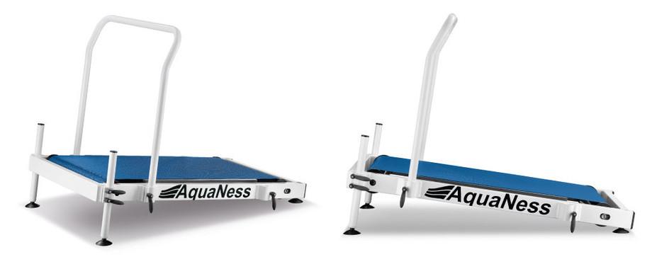 Tapis de marche aquatique Aquaness T1 - 1 barre transversale fournie