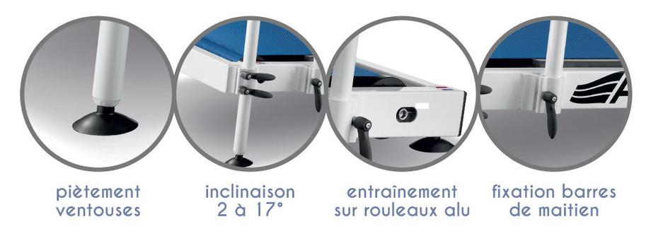 Tapis de marche aquatique Aquaness T1 - details