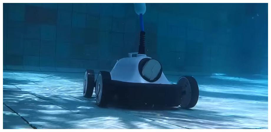 robot électrique de piscine EKLEEN D2TAILS