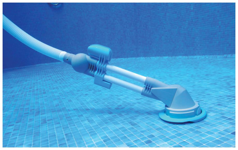 détails du robot hydraulique de nettoyage zappy max kokido