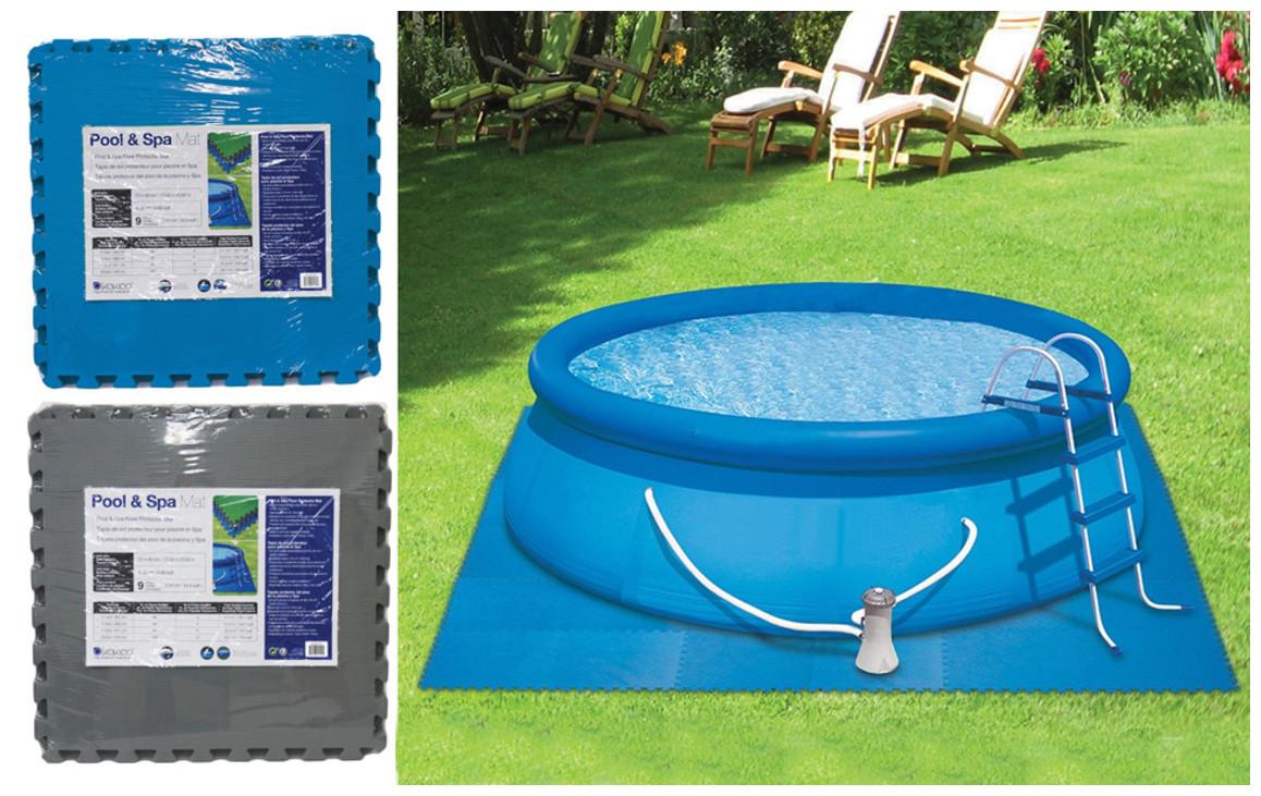 Dalle De Protection Piscine kokido - dalle de protection 60x60cm pour piscine hors sol