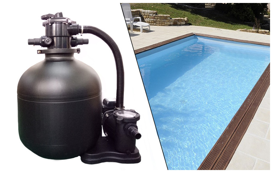 Plati clair premium platine de filtration piscine for Materiel filtration piscine