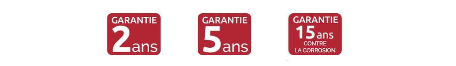logo garantie de la pompe à chaleur jetline selection inverter