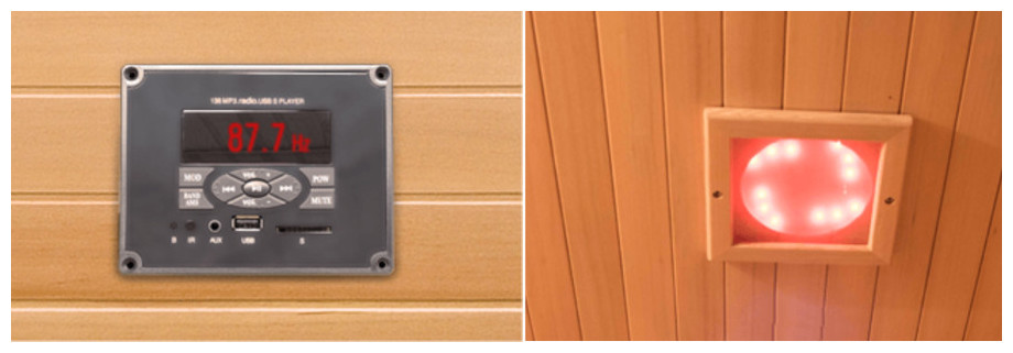 descriptif du sauna infrarouge spectra