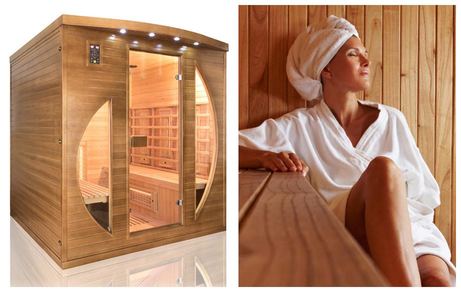sauna infrarouge spectra par holl's
