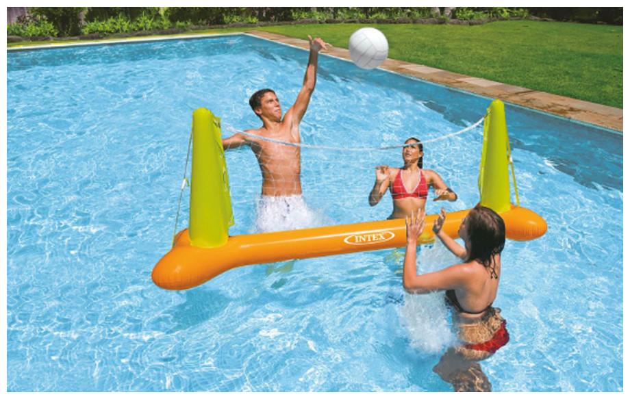 jeu de volley ball igonflables intex