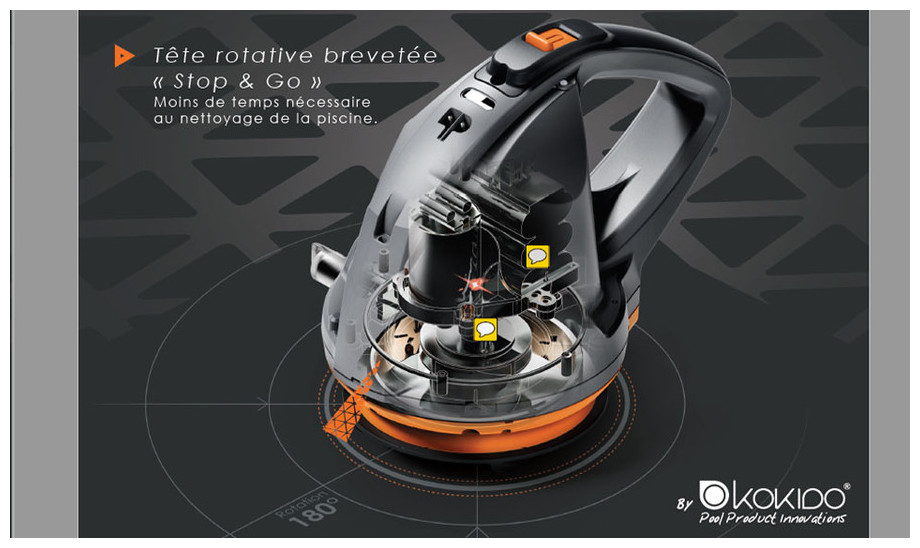 Robot de piscine sans fil vektro auto piscine center net - Robot piscine sans fil batterie ...