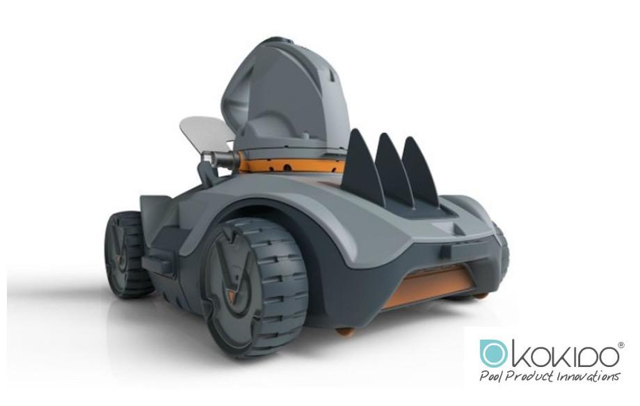 robot piscine sans fil Vektro Auto en situation