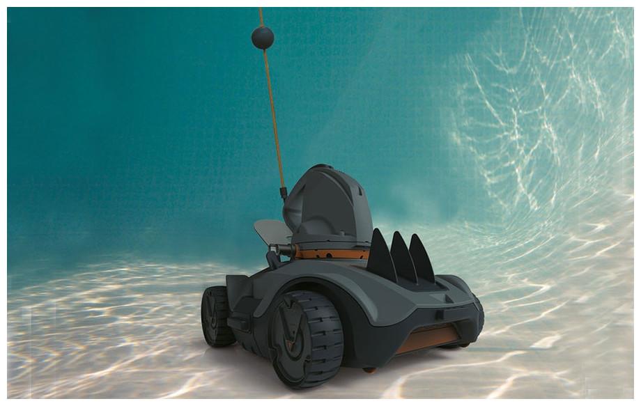 descriptif du robot piscine vektro auto en situation