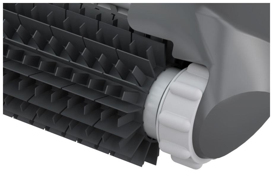 brosses picots robot aquavac 300qc en situation