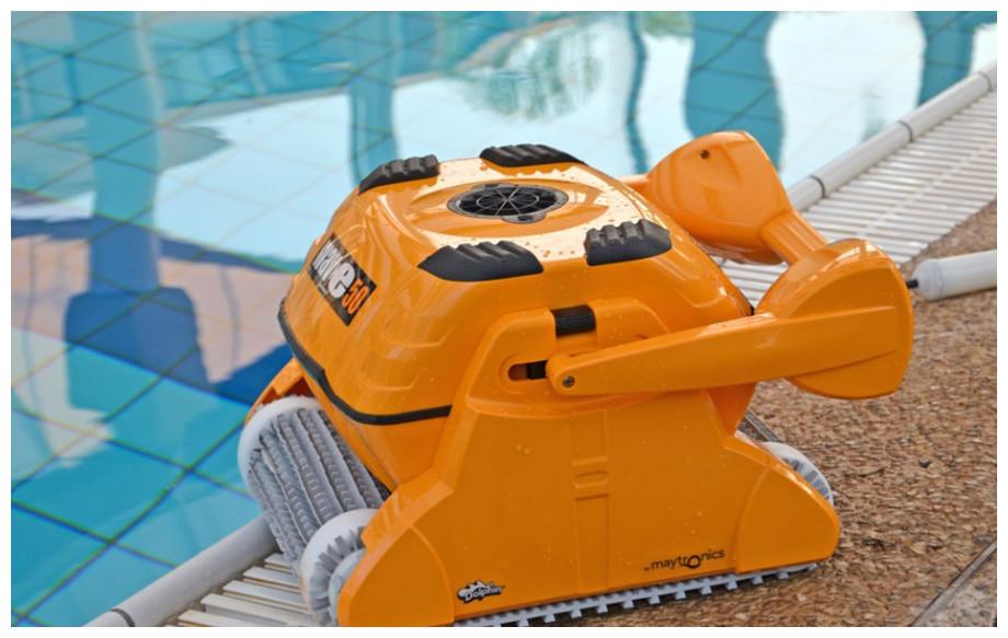 robot spécial grand bassins dolphin wave 50