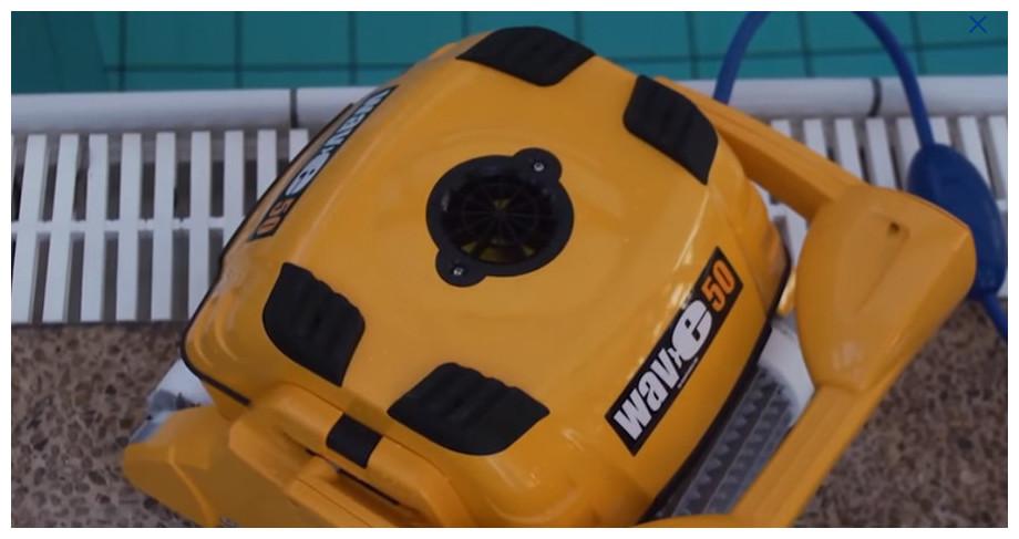 descriptif du robot piscine dolphin wave 50