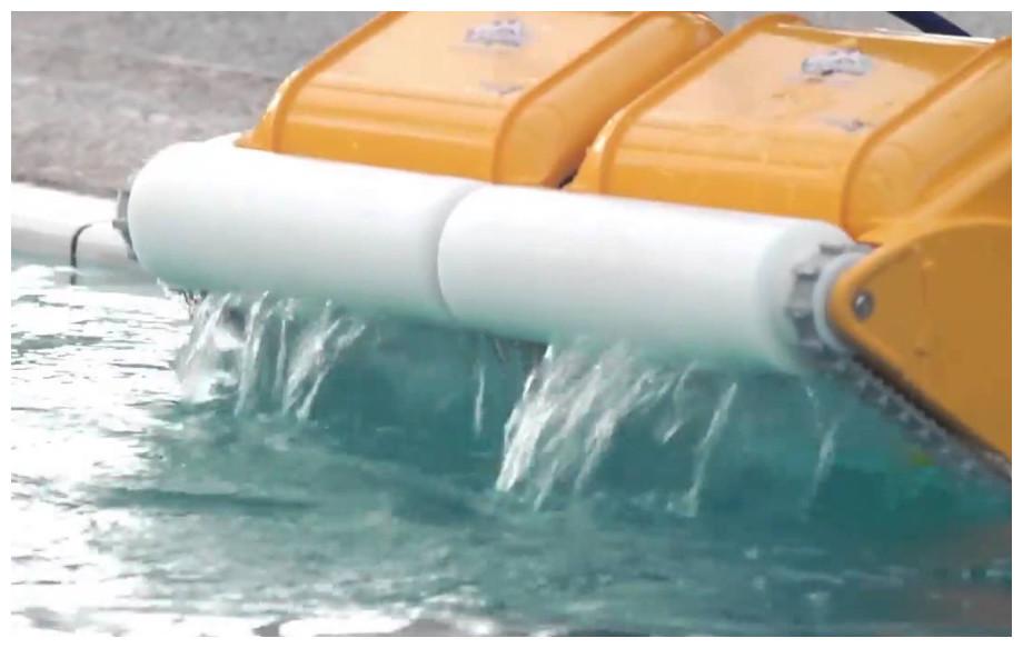 brosse mousse du robot piscine 2x2 pro gyro