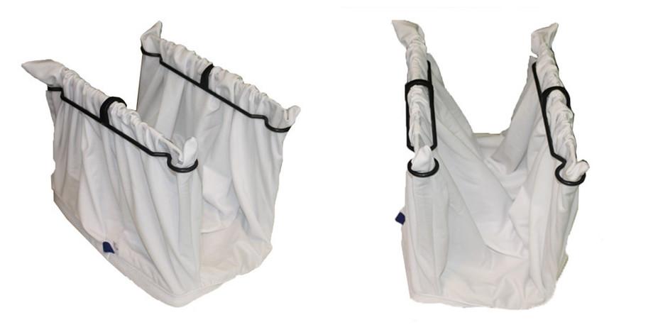 sac de filtration du robot de nettoyage de bassins de grande taille dolphin pro 2x2