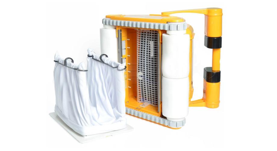 filtration du robot piscine prox 2 brosse mousse