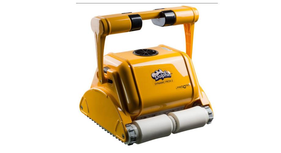 robot de nettoyage de piscine dolphin prox 2 brosse mousse
