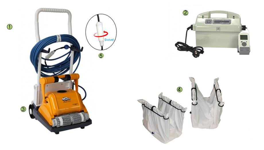 accessoires du robot de piscine dolphin prox 2